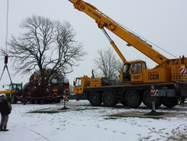 FASTRAK & Heavy Crane Set down Area