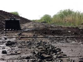 Flood Defense, Piling Machine Access Road