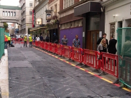 Cobble Block Protection