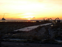 Underground Cable Laying for Off-Shore Wind-farm